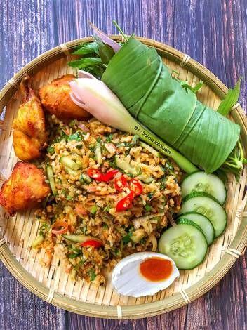 Resipi Nasi Ulam Tok Peah Oleh Salina Jalaludin Resep Resep Makanan Makanan Ayam Goreng