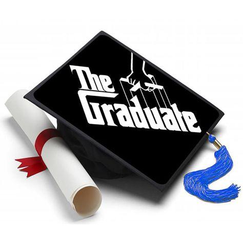 The Graduate Grad Cap Tassel Topper