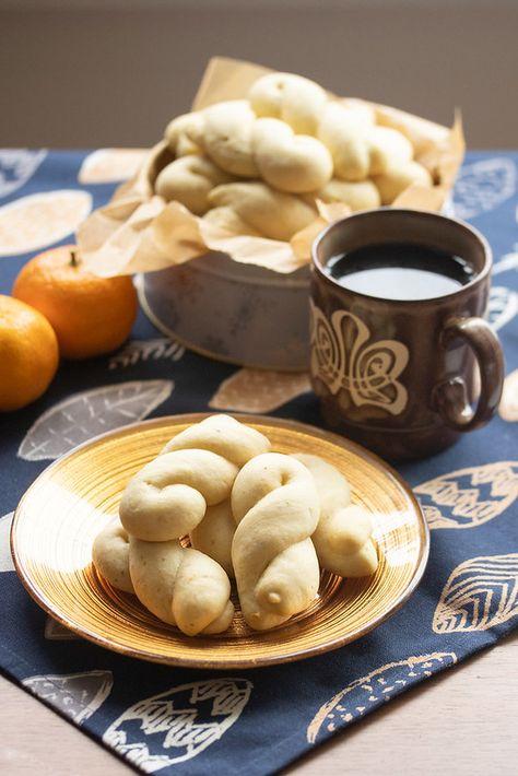 Orange-Anise Cookies with Coffee