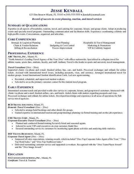 Resume Format One Job Job Resume Examples Job Resume Samples Sales And Marketing Jobs