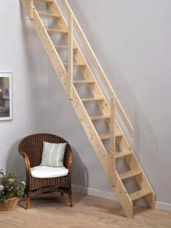 Deluxe Space Saving Staircase In 2020 Space Saving Staircase Loft Staircase Loft Stairs
