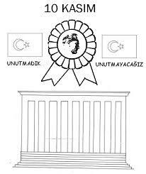 Okul Oncesi Ataturk Ve 23 Nisan Etkinlikleri Okul Alfabe Boyama
