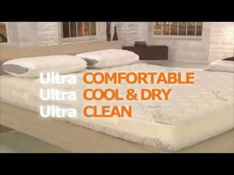 Dormeo Octaspring Ventilation Demonstration Us Commercial Sleepone Mattress Kansas City Super Videos Pinterest And