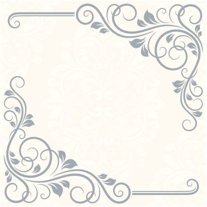 Free Victorian Wedding Borders And Frames Google Search With
