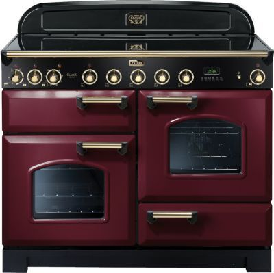 Piano De Cuisson Induction Falcon Delux110 Induc Rouge Laiton En