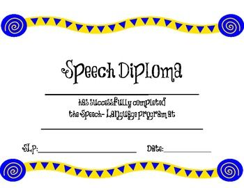 6c23d61c1b35602e7bbfe813dfc5e39b speech language pathology speech roomg speech graduation certificate free help your students see the progress they are making with printable yelopaper Choice Image
