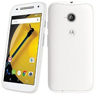 3e6a7656a3 Motorola Moto E XT1521 (2nd Generation) Unlocked DUAL SIM 8GB Factory  Unlocked 4G Phone - (International Version - No Warranty) - White