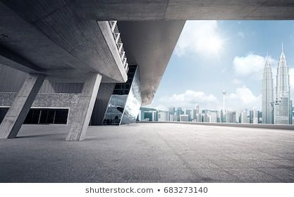 Rooftop Modern Building With Empty Ground Modern Buildings Building Image Photography