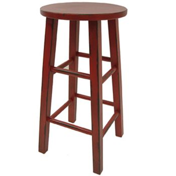 Red Wooden Stool Tall | HOME / furniture | Pinterest | Wooden stools Interior design online and Stools  sc 1 st  Pinterest & Red Wooden Stool Tall | HOME / furniture | Pinterest | Wooden ... islam-shia.org