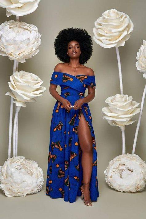 African Fashion Ankara, Latest African Fashion Dresses, African Dresses For Women, African Print Fashion, African Attire, Africa Fashion, Modern African Dresses, Nigerian Fashion, African Women