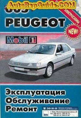 Download Free Peugeot 605 1990 Repair Manual Image By Autorepguide Com Repair Manuals Peugeot Repair