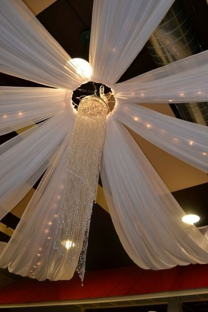 Diy Wedding Drapery Decoracion Con Tela Decoracion Con Globos