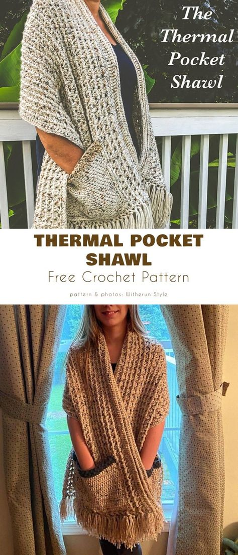 Crochet Prayer Shawls, Crochet Shawls And Wraps, Crochet Scarves, Crochet Clothes, Crochet Sweaters, Crochet Crafts, Knit Crochet, Easy Crochet Shawl, Crochet Projects
