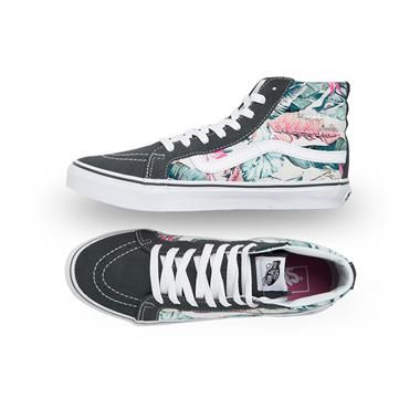 1bff65441a SK8-HI Slim (Tropical) - Multi   True White