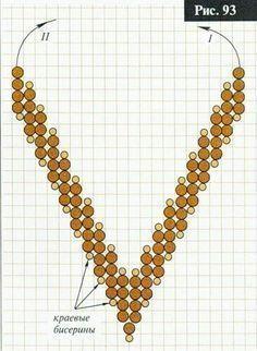 Best Seed Bead Jewelry 2017 v-shape RAW schema Seed Bead Tutorials