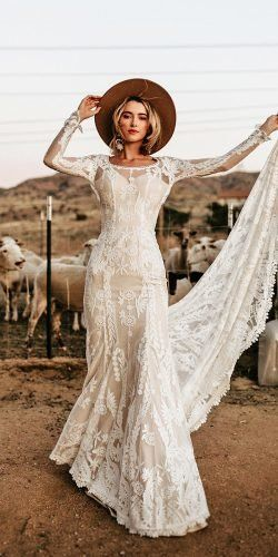 21 Hottest Wedding Dresses 2021 That Are Wow Bohemian Style Wedding Dresses November Wedding Dresses Simple Bridal Gowns