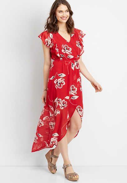 edb704e42d Floral Dresses | maurices | new arrivals in 2019 | Dresses, Maxi ...