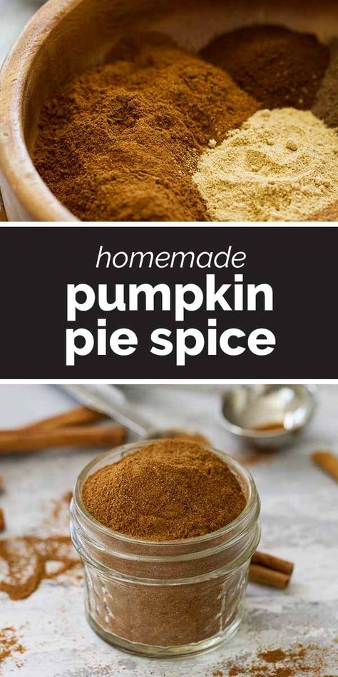Pumpkin Pie Spice is so easy to make at home, and you probably already have all of the spices on hand! Use this spice recipe to flavor all of your favorite fall pies, cakes, cookies and other goodies! #pumpkin #spice #recipe #fall #fallbaking
