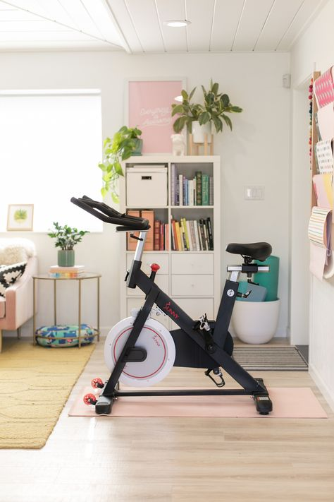 Amazing Life Hacks, Simple Life Hacks, Spinning Workout, Life Hacks Every Girl Should Know, Peloton Bike, Gym Room At Home, Bike Room, Ways To Stay Healthy, Workout Rooms