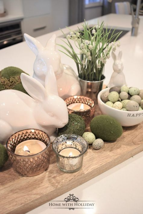 If you are looking for some Tips for Creating Simple Spring or Easter Decor, stop by my new post with some cute and festive ideas! # easter table decor Tips for Creating Simple Spring or Easter Decor - Home with Holliday Easter Dinner, Easter Brunch, Easter Party, Easter Gift, Hoppy Easter, Easter Eggs, Easter Food, Easter Table Settings, Setting Table