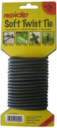 50 Multi-purpose Re-useable Plastic Adjustable Plant Ties