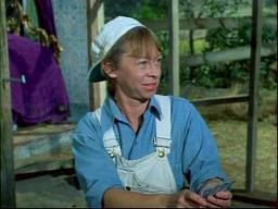 """Mary Grace Canfield from Green Acres.  she played """"Ralph"""" the female of the Monroe Brothers."""