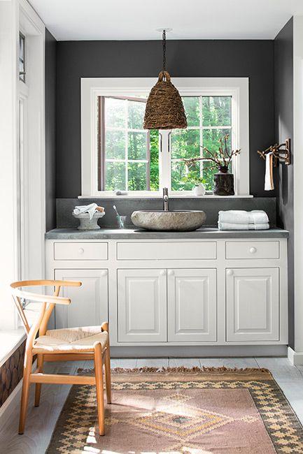 Accent Wall Paint Color Ideas Benjamin Moore In 2020 Small Bathroom Paint Small Bathroom Paint Colors Small Bathroom Colors