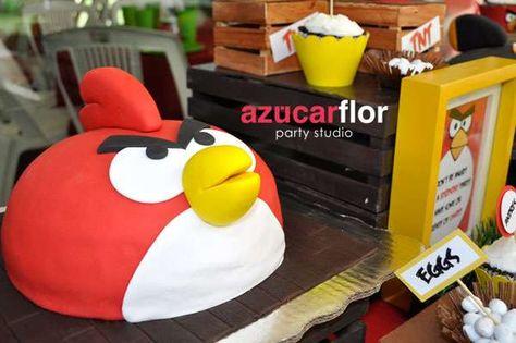 4acc16a8e Angry Birds Birthday Party Ideas en 2019   Party ideas