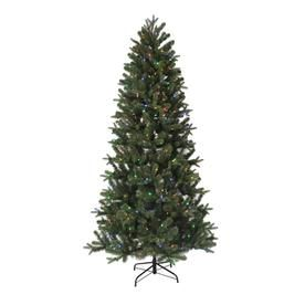 Shop Mckinney Fir At Lowe S Find A Variety Of Quality Home Improvement Products A Slim Artificial Christmas Trees Led Color Changing Lights Led Christmas Tree