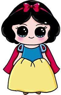 Idea De Llitastar En Princesa Blancanieves Dibujos Kawaii 365