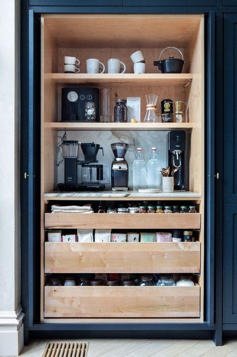 Meine Kaffeestation kaufen - #Kaffeestation #kaufen #kitchen #Meine #coffee bar in kitchen built in