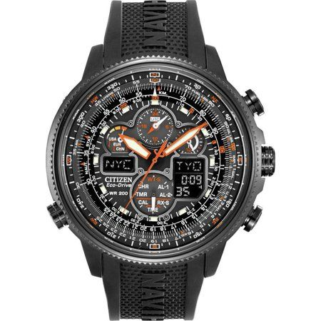 49f064eb743 Citizen Eco-Drive Navihawk Atomic Alarm Chronograph Men s Watch ...