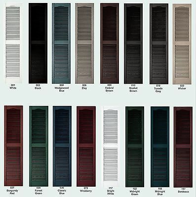 Color Samples For Raised Panel Louver Board N Batten Exterior Vinyl Shutters Vinyl Shutters Exterior Vinyl Shutters Shutters Exterior