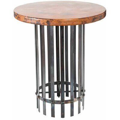 Prima Design Source Ashton Round Hammered Top Bar Height Dining
