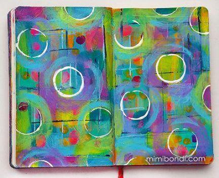 48+ Ideas Art Journal Backgrounds Acrylics Artists