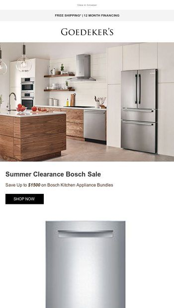 More Money Saving Summer Clearance Appliance Deals Goedeker S Email Archive Samsung Kitchen Kitchen Aid Appliances Appliance Deals