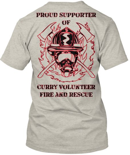 Fire Department Supporter Shirts Dd Fds3 Navy Silhouette Cameo