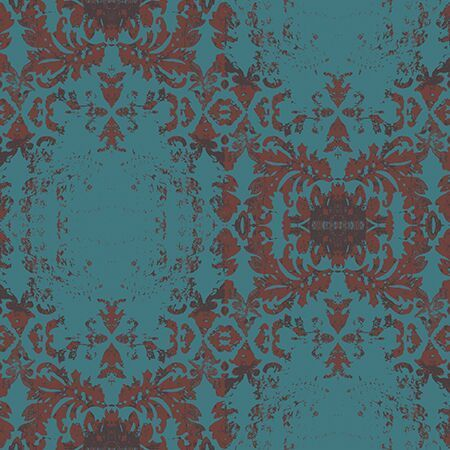 Vintage Damask Wallpaper A Smithhonig Exclusive Peel And Stick Wallpaper Turquoise Wallpaper Damask Wallpaper