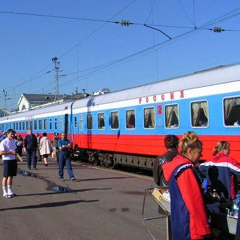 De Moscou à Pékin par le Transsibérien = le plus long chemin de fer au monde, de Moscou à Pékin, en passant par l'arrière-pays russe, l'Oural, la Sibérie, les steppes sauvages de Mongolie, le Désert de Gobi, la Grande Muraille de Chine... Le tout en 6 jours, que vous pourrez fractionner selon les visites.  L'ambiance dans le train et la découverte tout le long du parcours des ces régions chargées d'histoire en font un voyage mémorable...