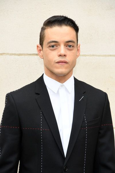 Rami Malek attends the Dior Homme Menswear Spring/Summer 2018 show as part of Paris Fashion Week.