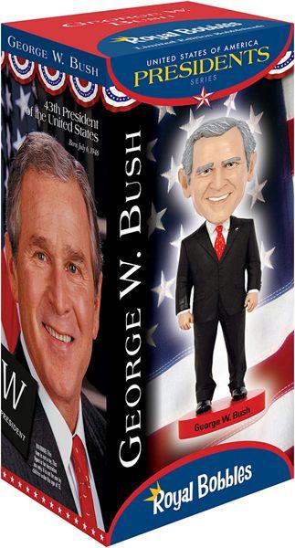 George Bush President Bobblehead Pin NEW