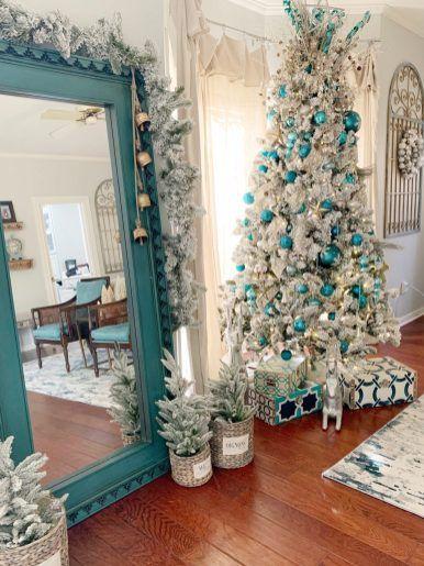 Pin By Patricia Standridge Main On Christmas Christmas Decor Trends Blue Christmas Decor Blue Christmas