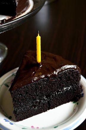 Chocolate Fudge Cake Substitute Sour Cream With 3 4 Coconut Milk And Half Lemon Juic Fudge Cake Recipe Chocolate Fudge Cake Recipe Best Simple Chocolate Cake
