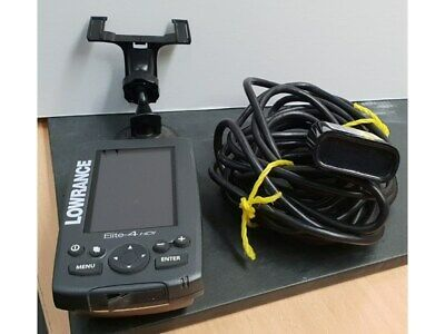 New Lowrance Elite 4x HDI Operation Owners Manual Guide