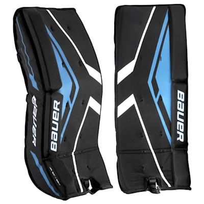 Bauer Street Hockey Goalie Leg Pads Junior Pure Goalie Equipment In 2020 Goalie Gear Hockey Equipment Bauer