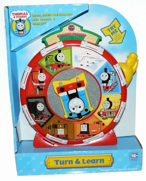 Thomas And Friends Train Turn And Learn Talks New In Box Colors Numbers Hittoycompany Thomas Und Freunde