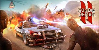 Zombie Derby 2 Apk Mod Money Fuel For Android Derby Zombie