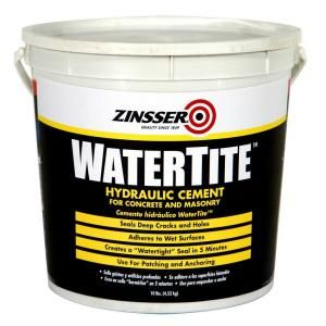 Zinsser 10 Lbs Watertite Waterproofing Hydraulic Cement 4 Pack 5071 The Home Depot Cement Concrete Repair Products Grade Of Concrete
