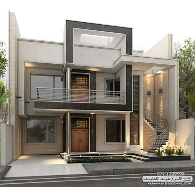 Contemporary Facade Lighting Contemporary Office Commercial Contemporary Stairs South Africa Contemporary Color Facade House House Exterior House Front Design