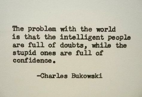 CHARLES BUKOWSKI Quote Hand Typed Quote Made with Vintage Typewriter Bukowski Quote by PoetryBoutique on Etsy